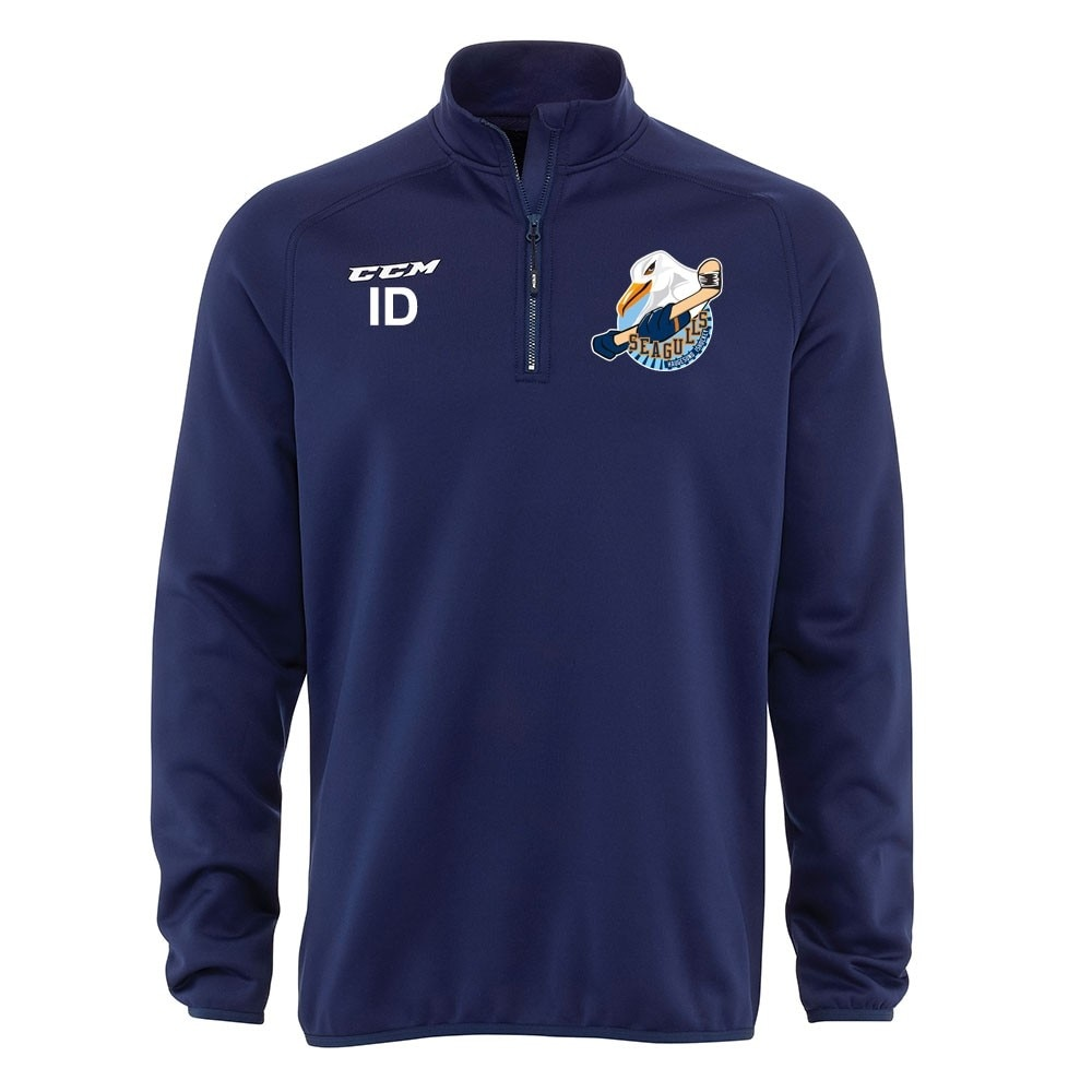 Ccm Haugesund Hockey Locker Room Half Zip Genser junior