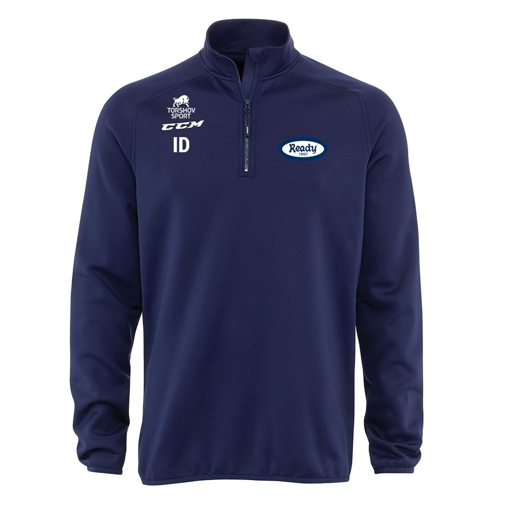 Ccm Ready Bandy Locker Room Half Zip Genser