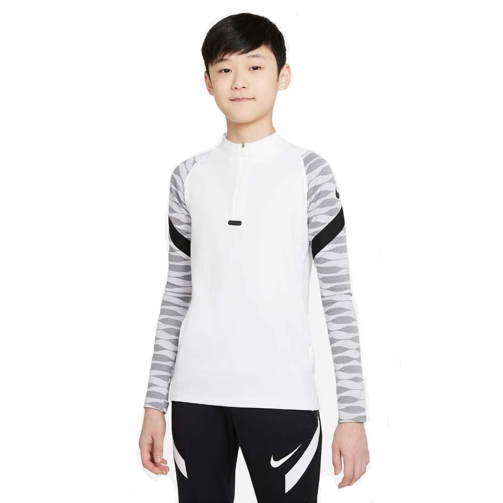 Nike Dry Strike 21 Drill Fotballgenser Barn Hvit