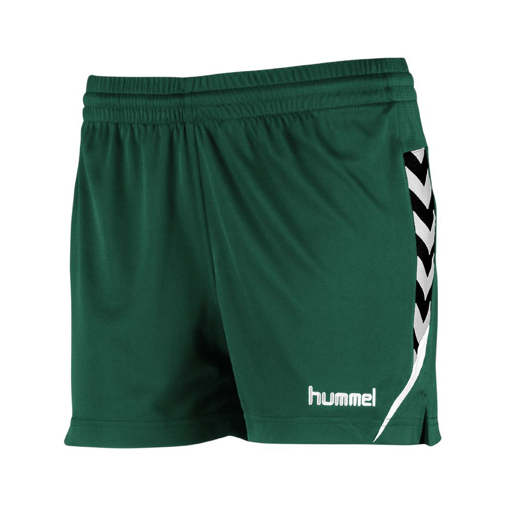 Hummel Authentic Charge Poly Shorts Dame Grønn
