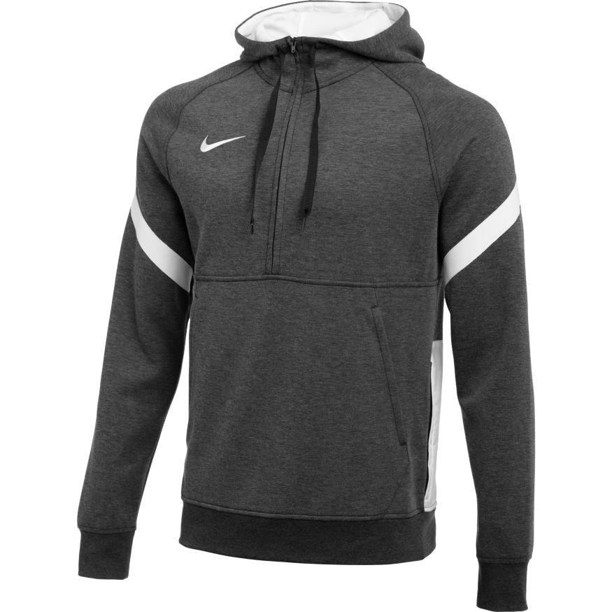Nike Strike 21 Fleece Half-Zip Hettegenser Grå