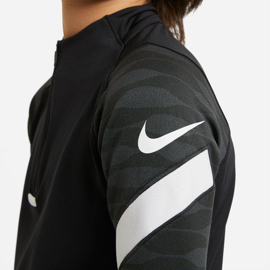 Nike Dry Strike 21 Drill Fotballgenser Barn Sort