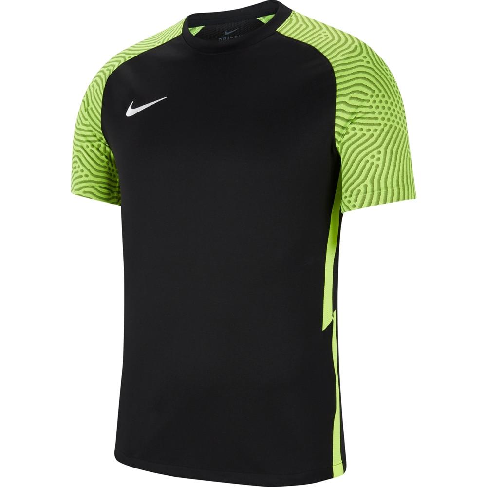 Nike Dry Strike II Fotballdrakt Barn Sort/Volt
