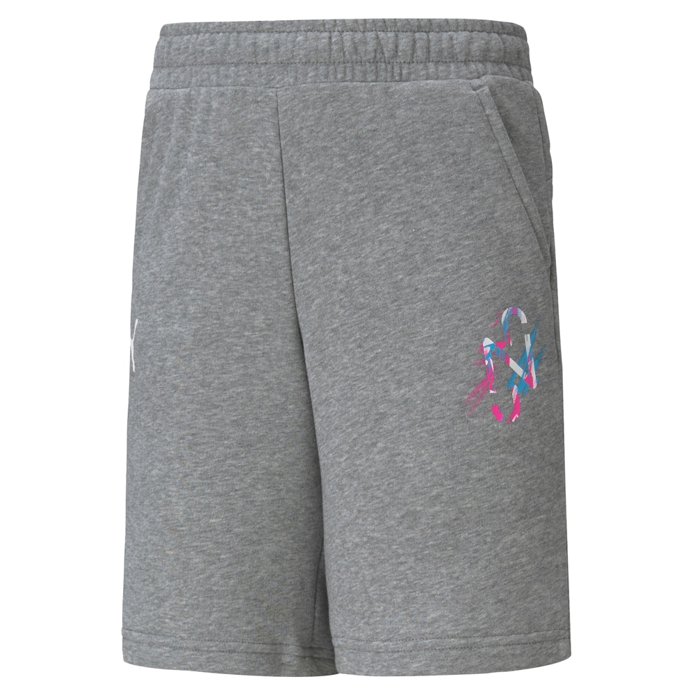 Puma Shorts Barn Neymar Jr. Creativity Collection Grå