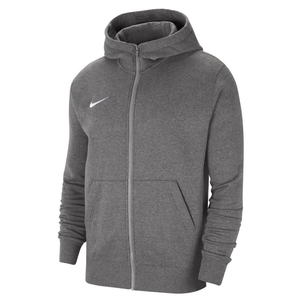 Nike Follese FK Full-Zip Hettegenser Barn Kullgrå
