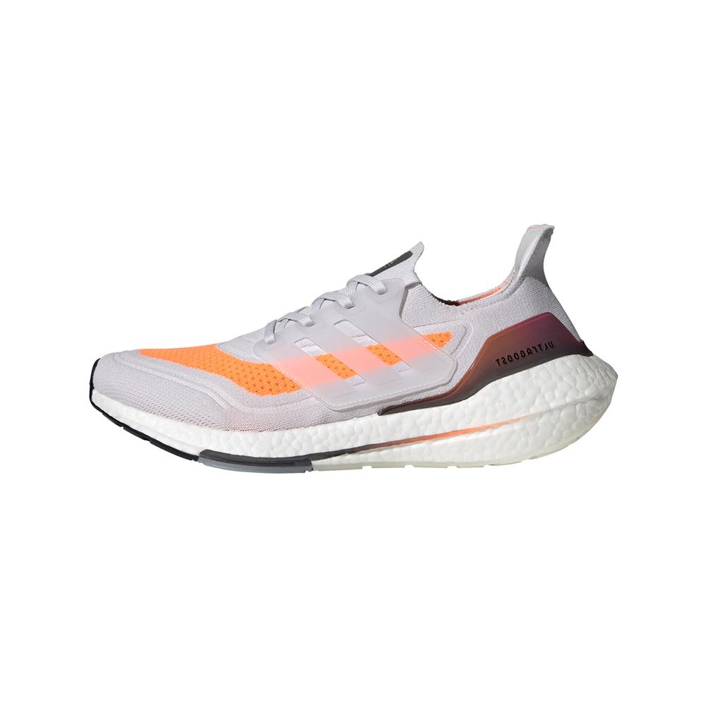 Adidas UltraBoost 21 Joggesko Herre Grå/Oransje