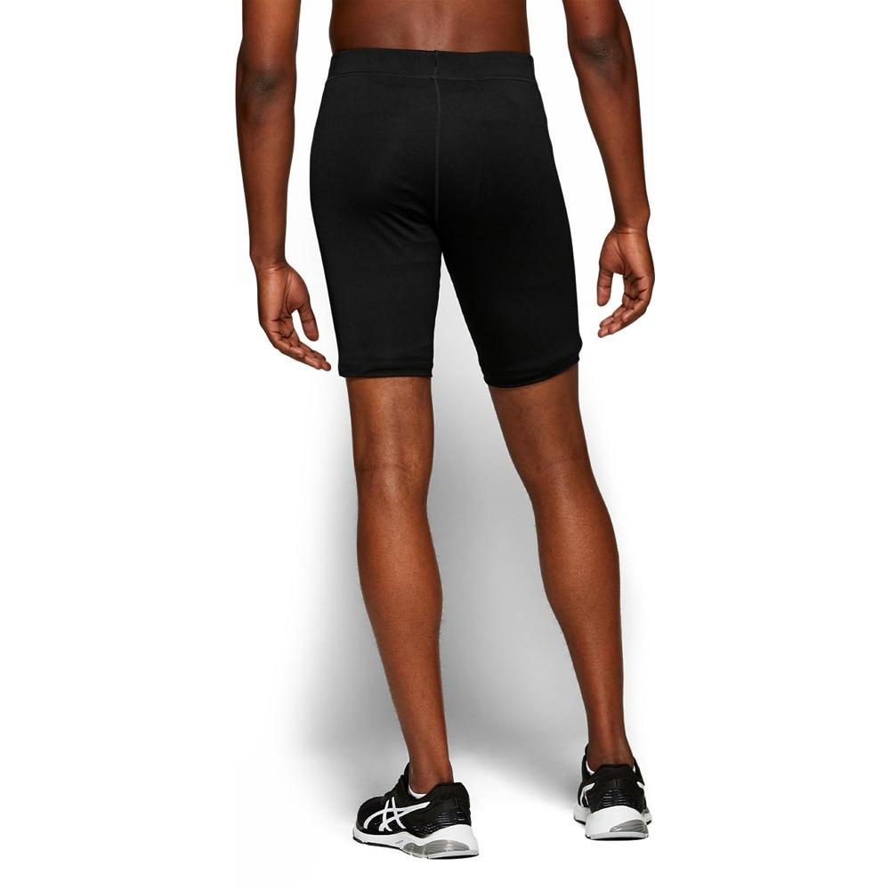 Asics Silver 7' Sprinter Tights Shorts Herre Sort