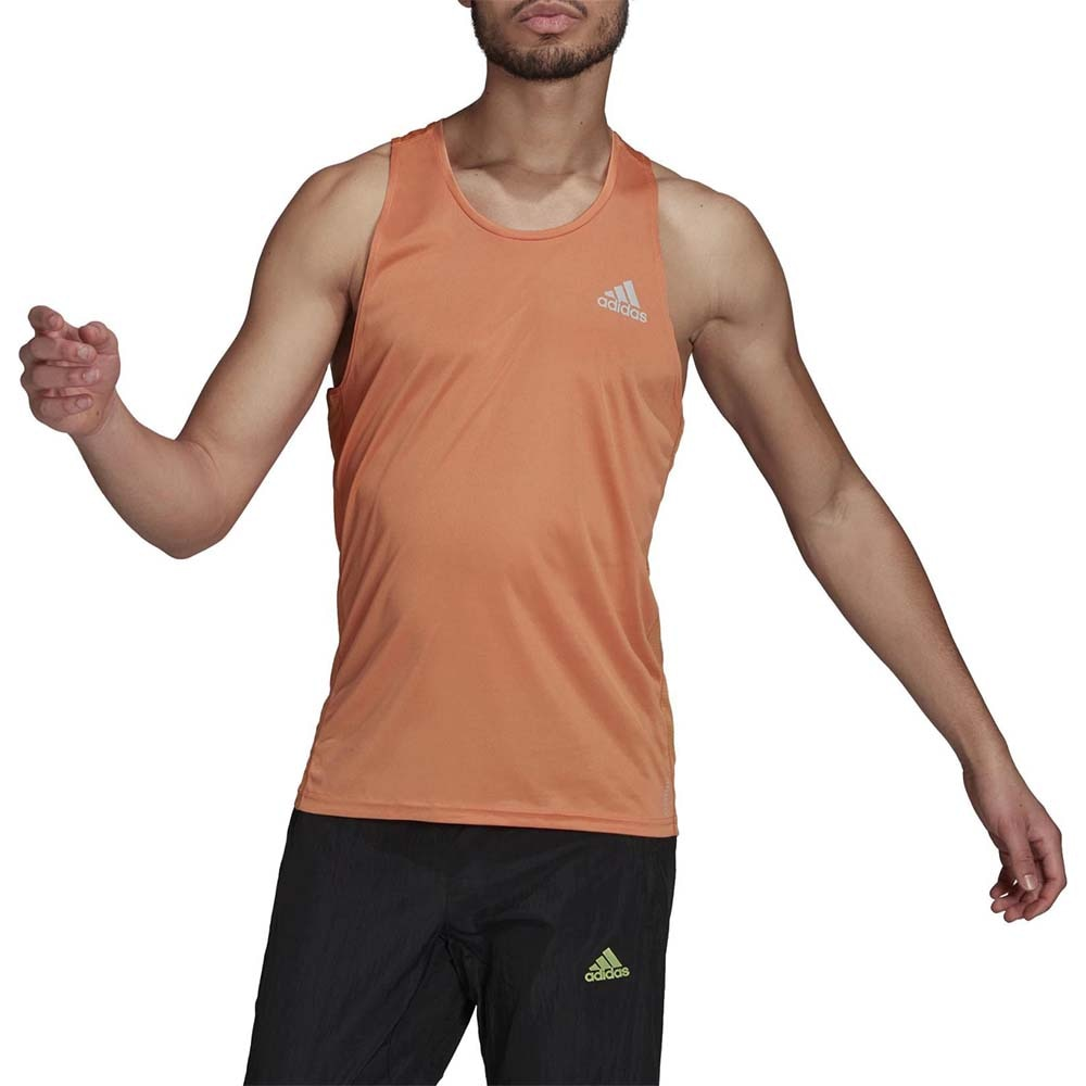 Adidas Own The Run Singlet Herre Oransje