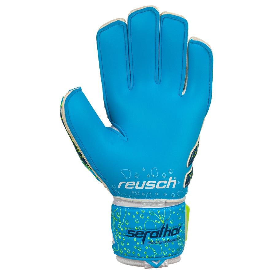 Reusch Serathor Pro AX2 Windproof Keeperhansker Hvit/Blå