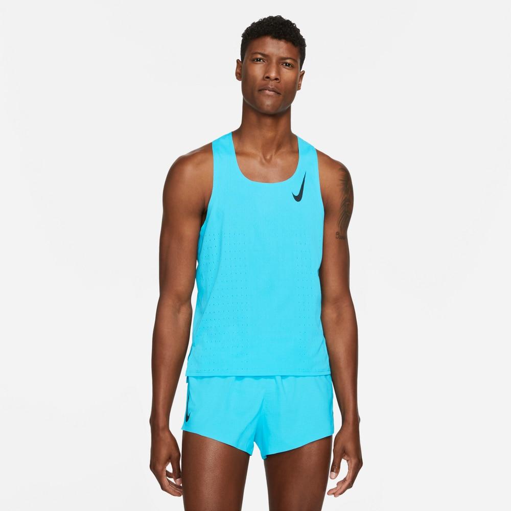 Nike Aeroswift Singlet Herre Lyseblå