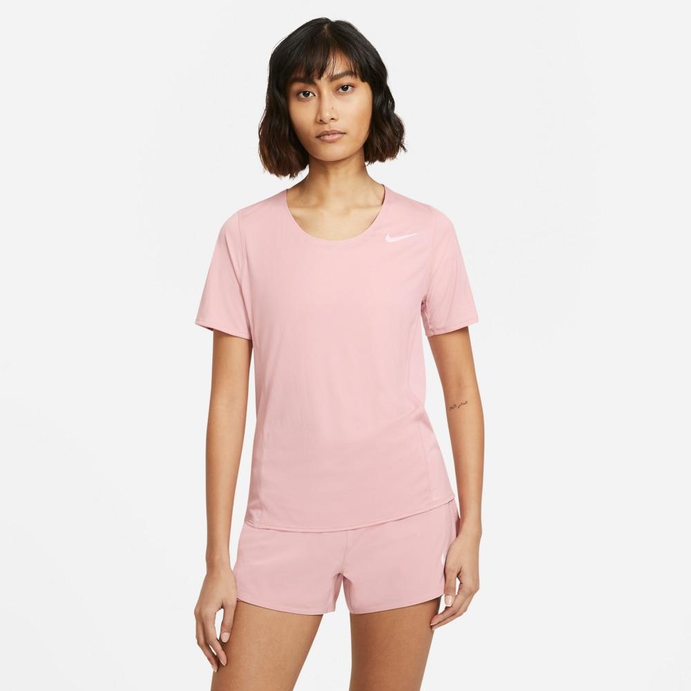 Nike City Sleek Løpetrøye Dame Rosa