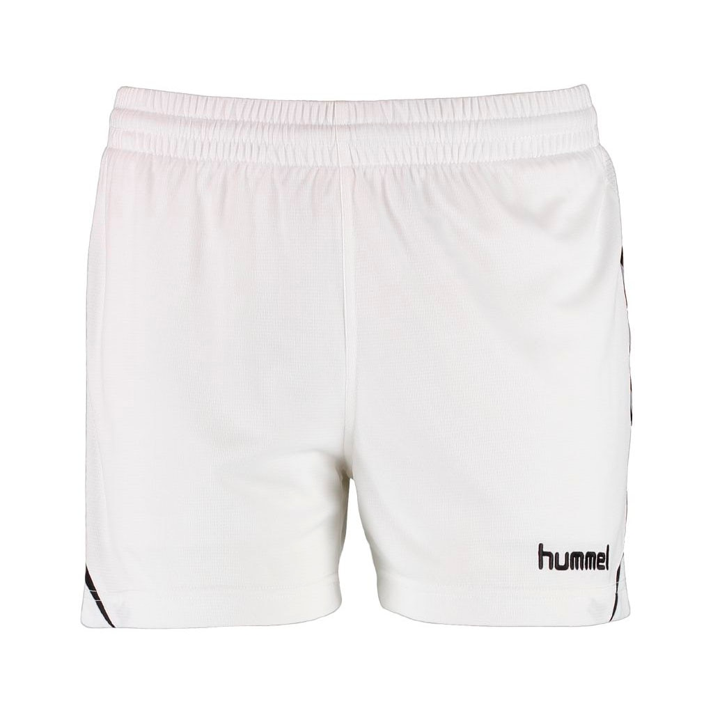 Hummel Authentic Charge Poly Shorts  Dame Hvit/Sort
