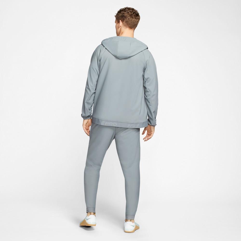 Nike Pro Flex Hoodie Hettegenser Grå