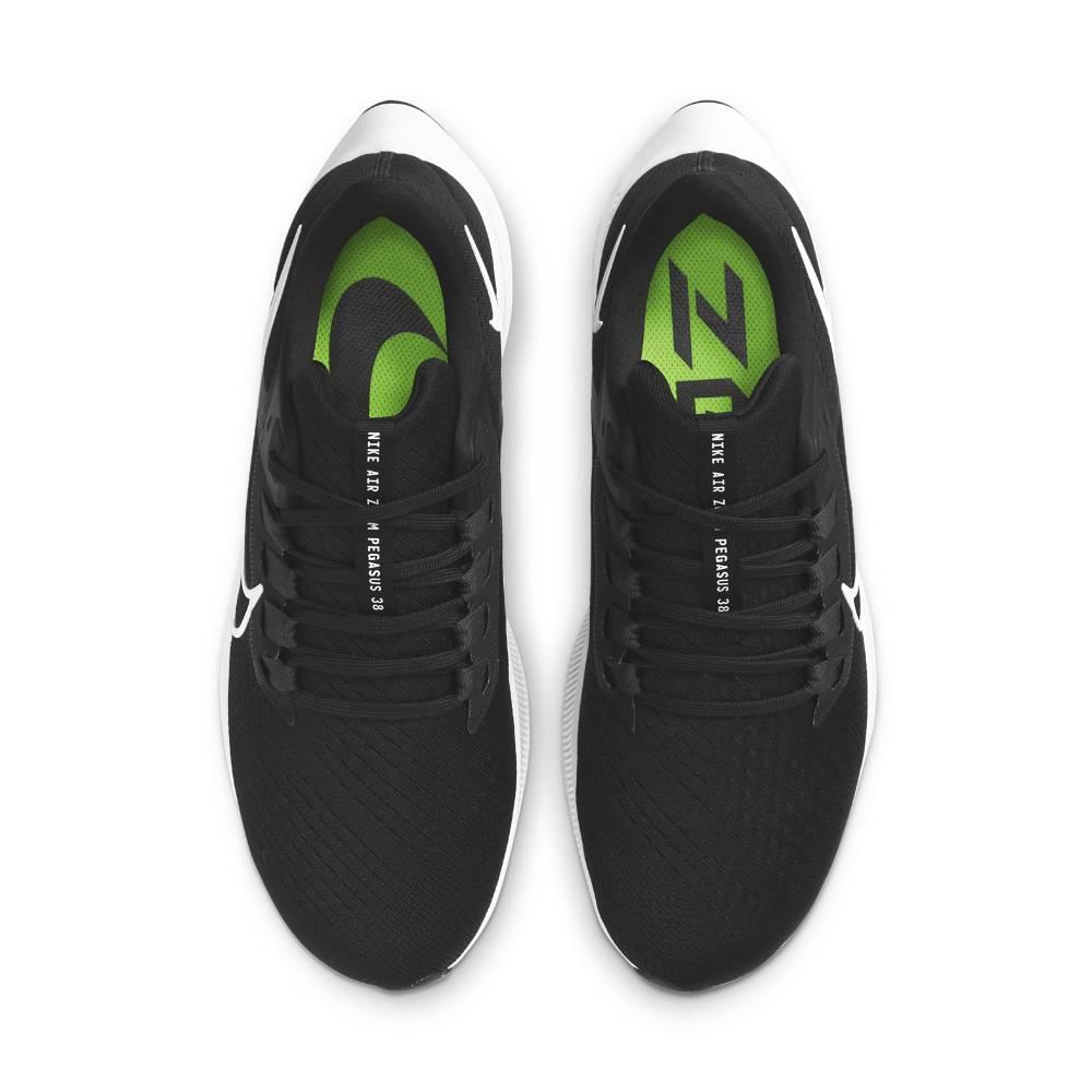 Nike Air Zoom Pegasus 38 Joggesko Herre Sort/Hvit