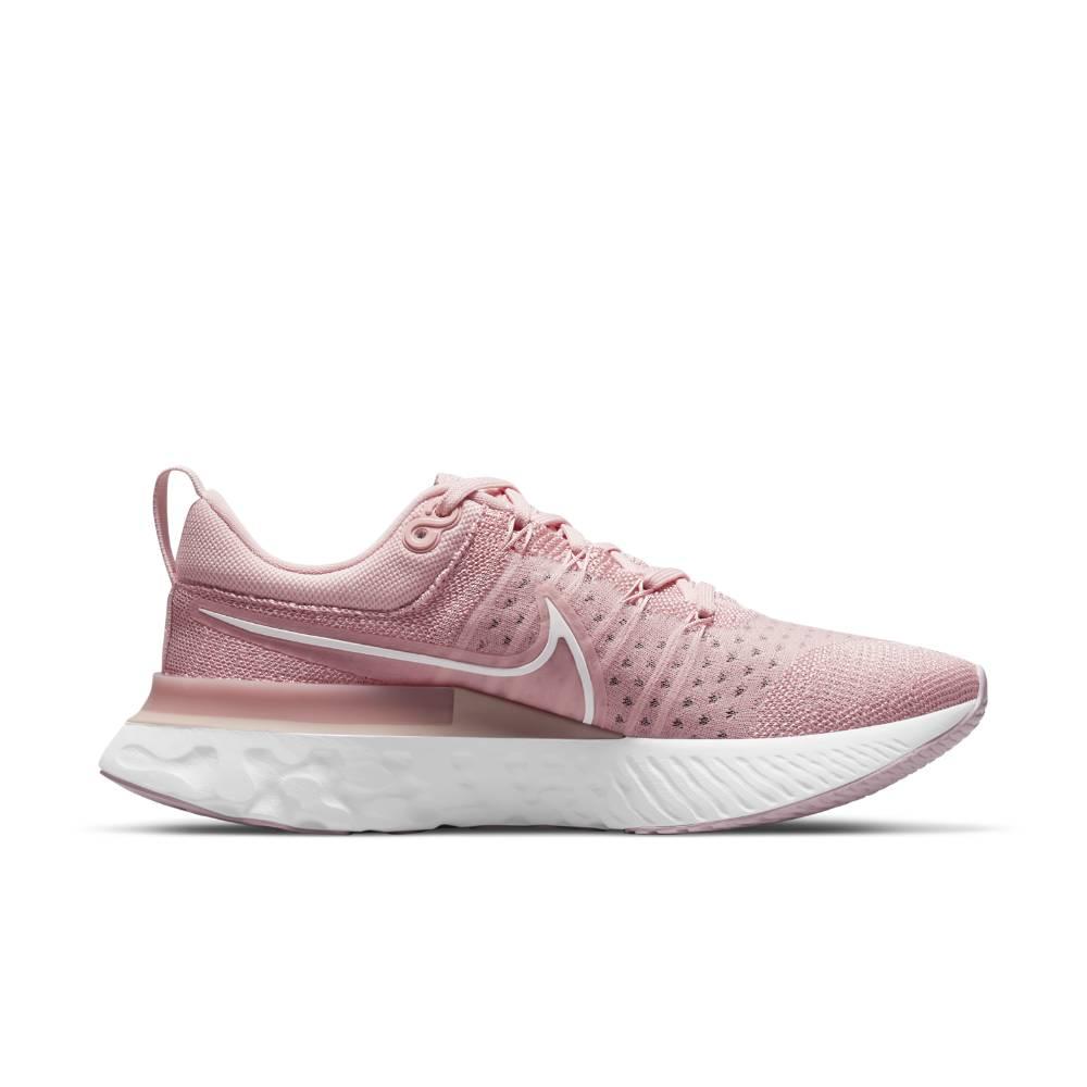 Nike React Infinity Run Flyknit 2 Joggesko Dame Rosa