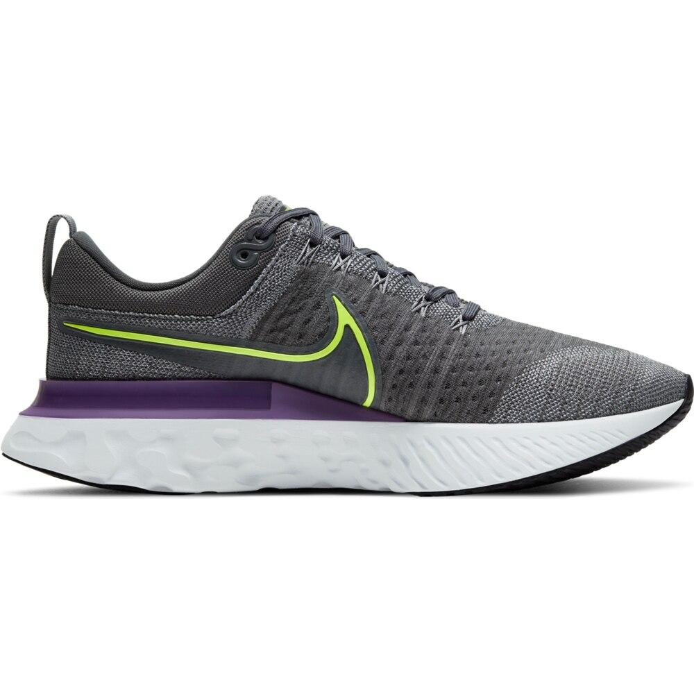 Nike React Infinity Run Flyknit 2 Joggesko Herre Grå