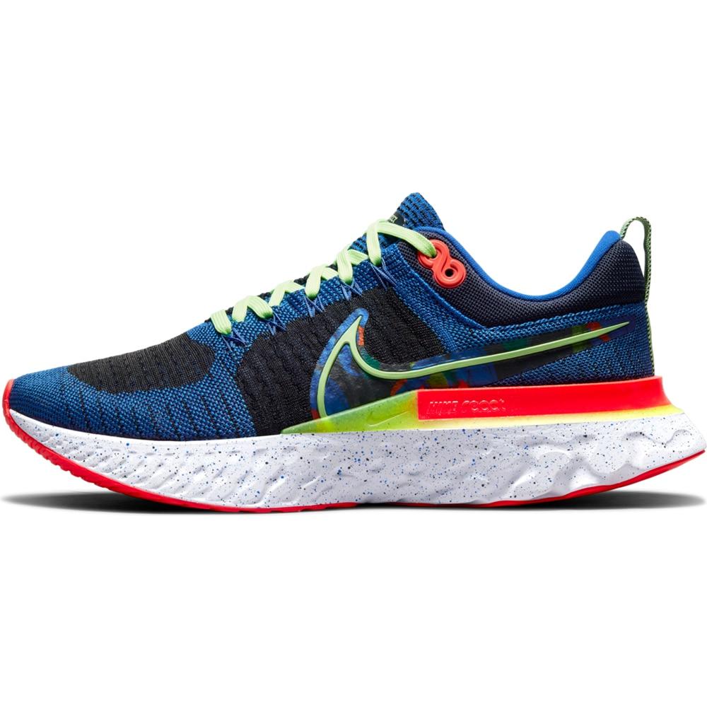Nike React Infinity Run Flyknit 2 Joggesko Herre Blå/Sort