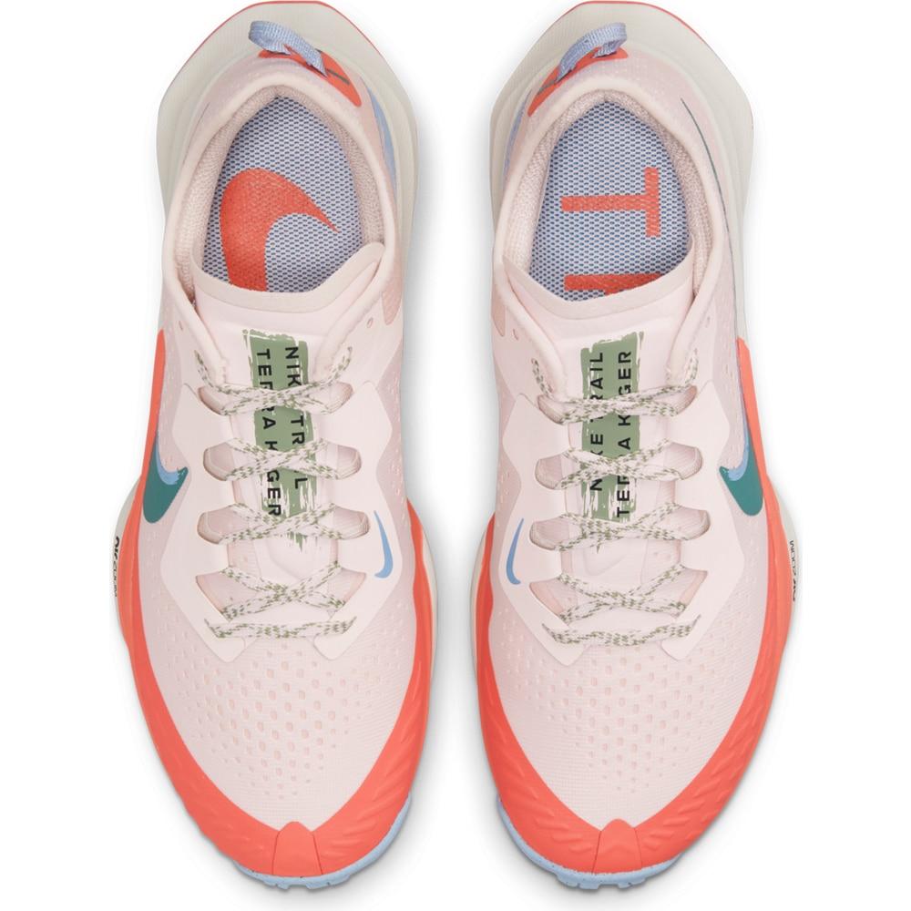 Nike Air Zoom Terra Kiger 7 Joggesko Dame Lyserosa