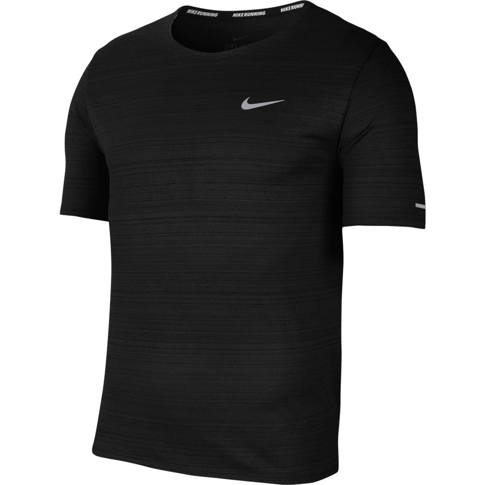 Nike Dry Miler Løpetrøye Herre Sort