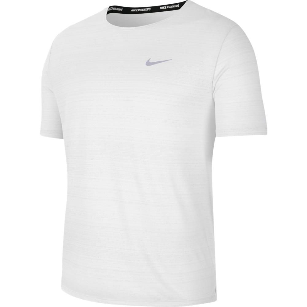 Nike Dry Miler Løpetrøye Herre Hvit