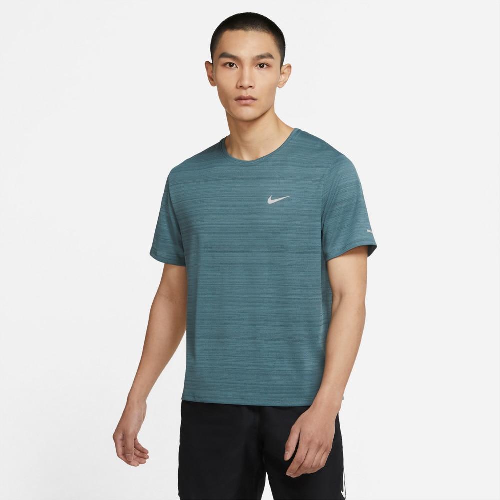 Nike Dry Miler Løpetrøye Herre Havblå