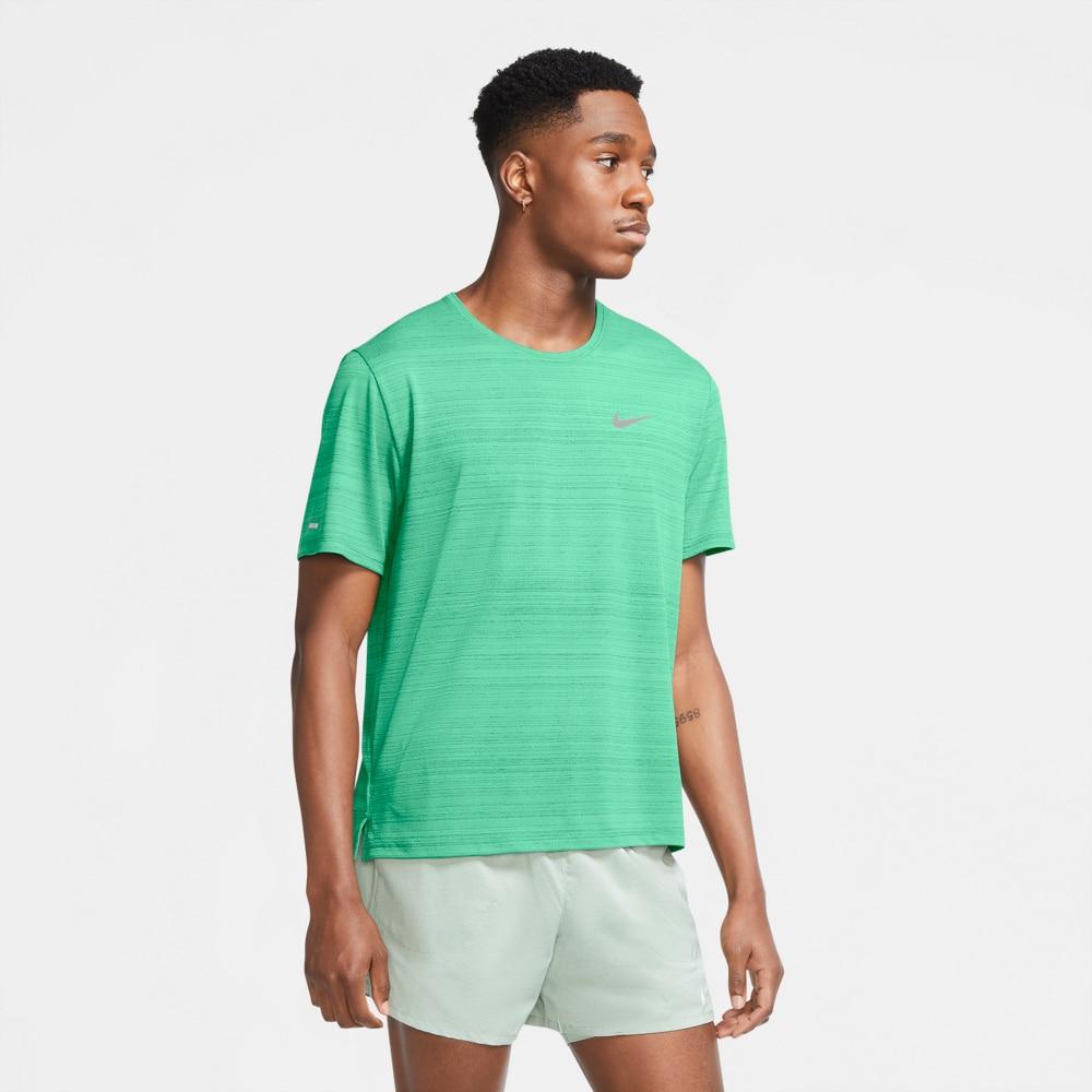 Nike Dry Miler Løpetrøye Herre Grønn