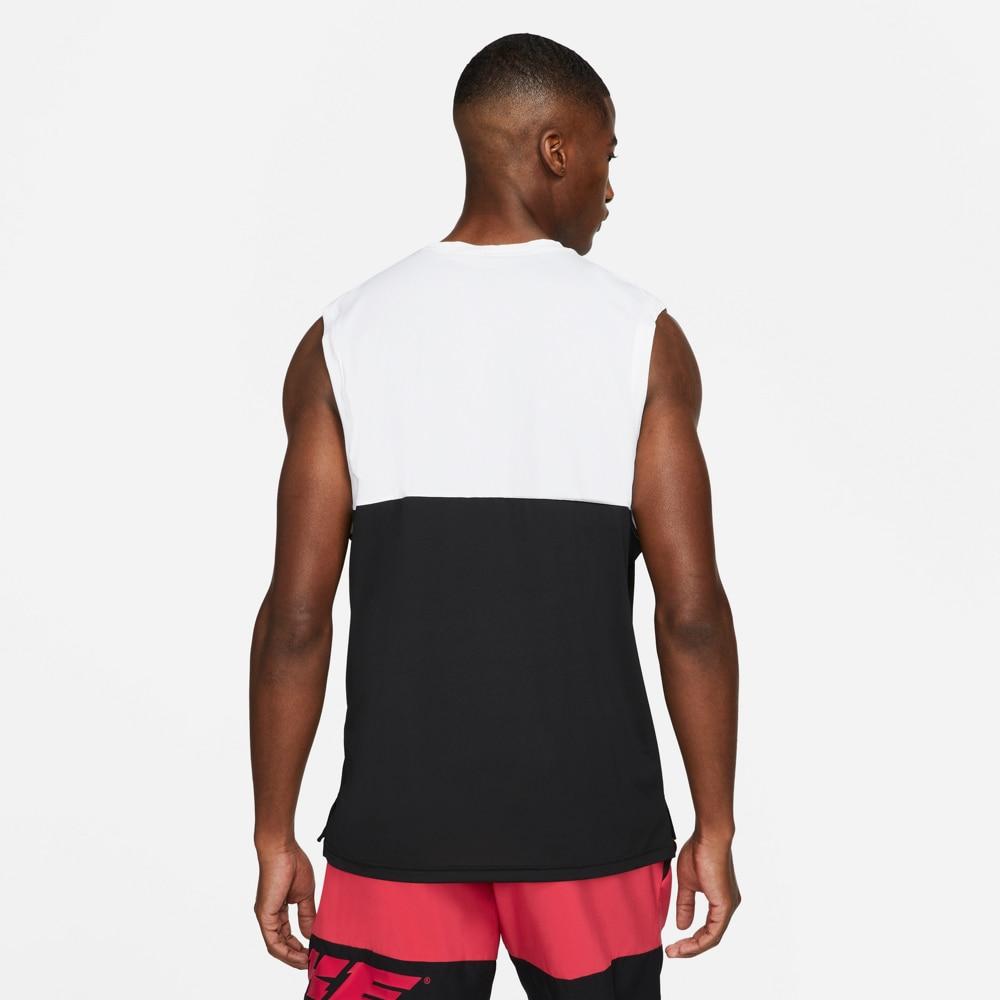 Nike Sport Clash Tank Singlet Herre Hvit/Sort