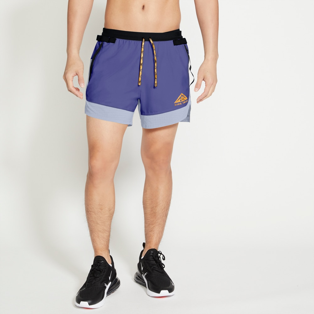 Nike Flex 5' Løpeshorts Trail Herre Lilla