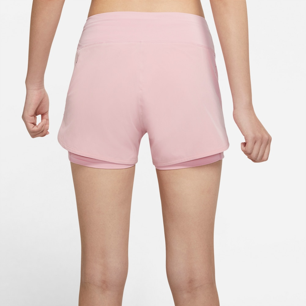 Nike Eclipse 2in1 Treningsshorts Dame Rosa