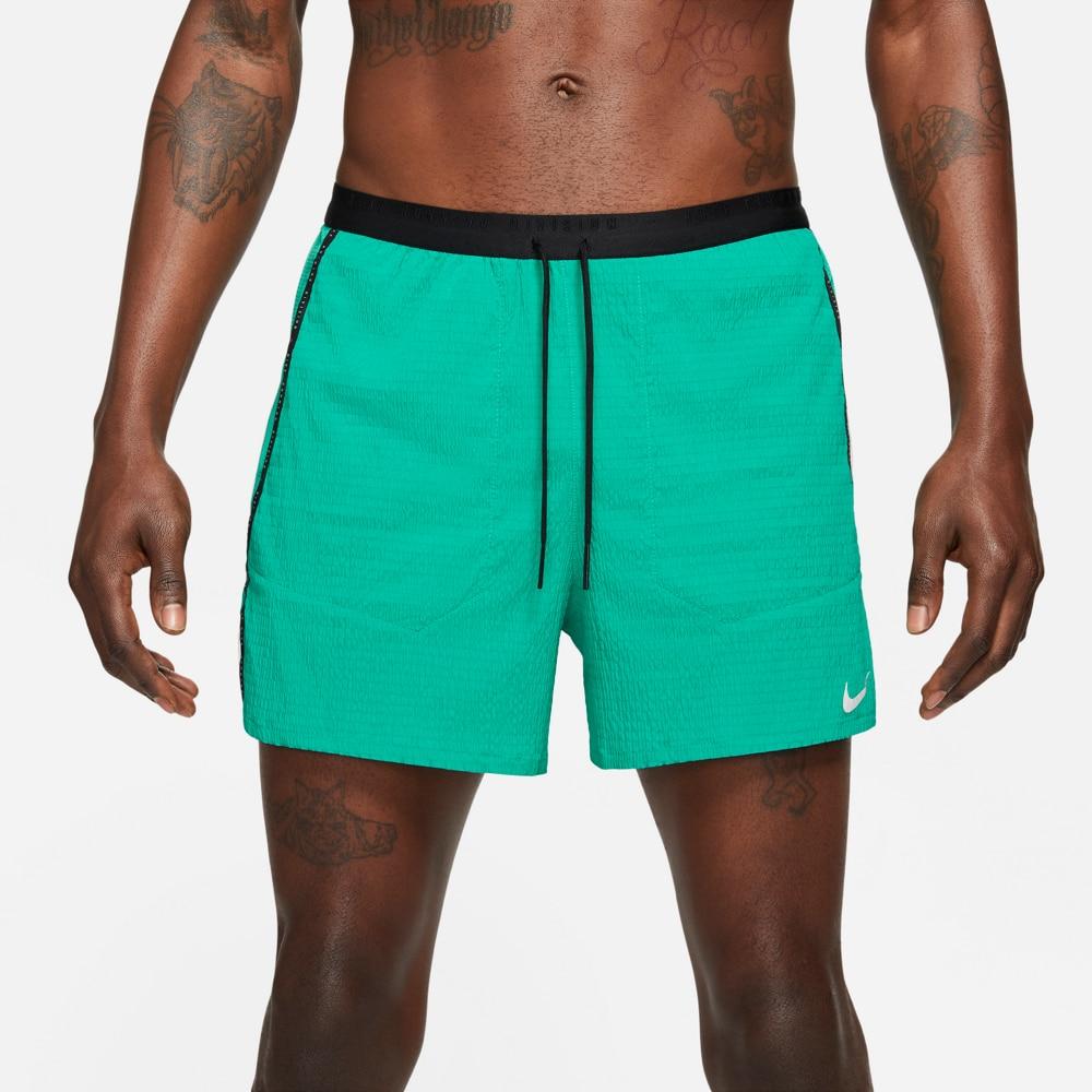Nike Flex Stride 5' Run Division Løpeshorts Herre Grønn