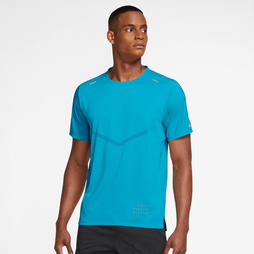 Nike Run Division Rise 365 Treningstrøye Blå