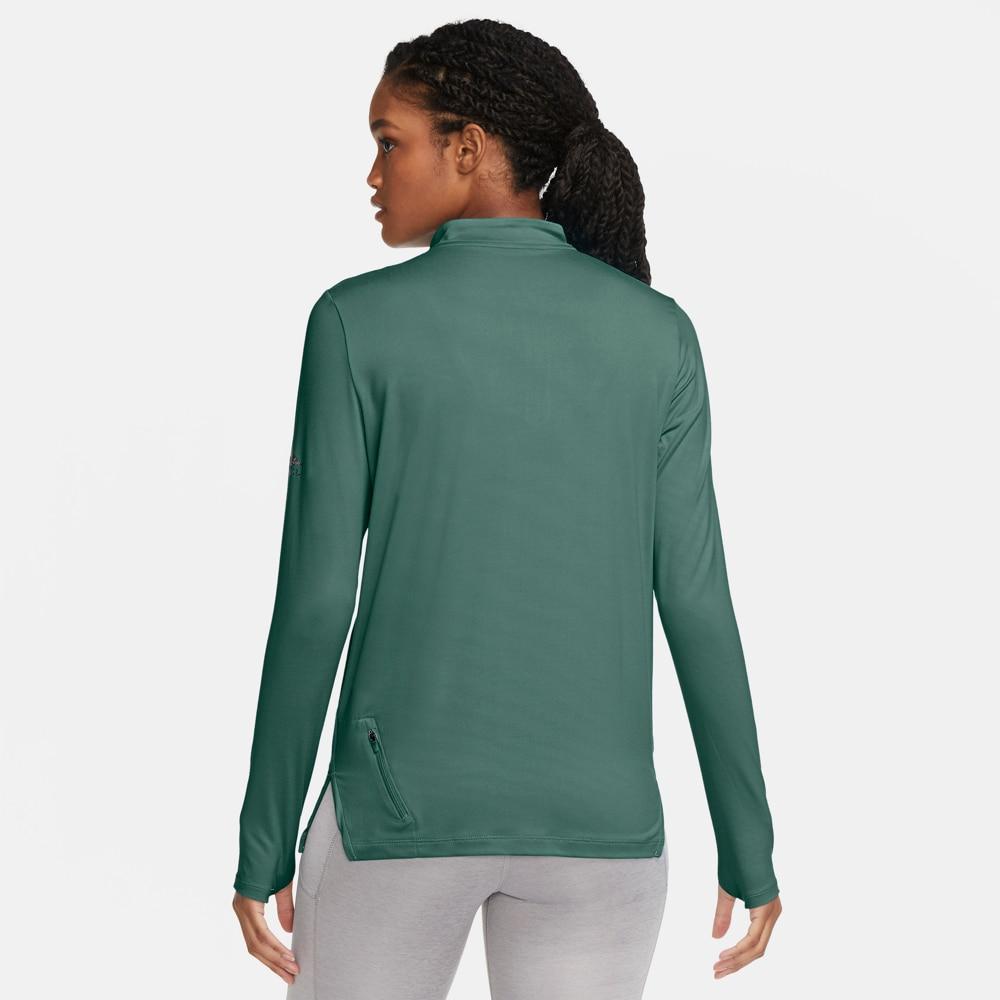 Nike Element Trail Midlayer Løpegenser Dame Grønn