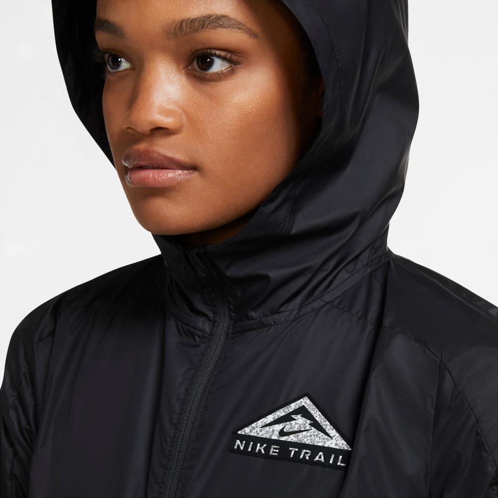 Nike Trail Shield Løpejakke Dame Sort