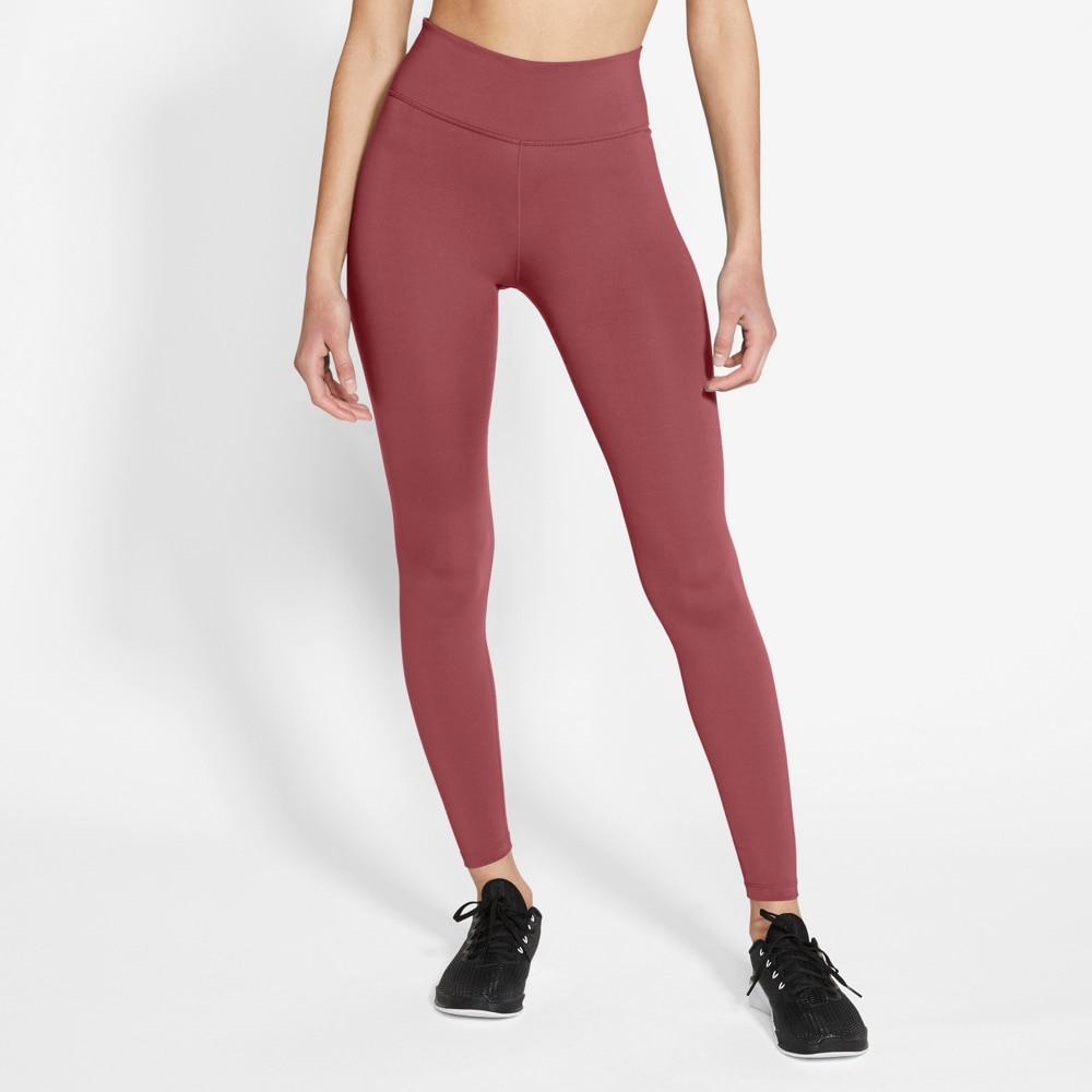 Nike One Tights 2.0 Dame Burgunder