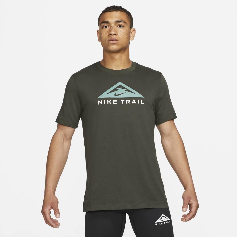 Nike Dri-FIT Trail Treningstrøye Herre Grønn