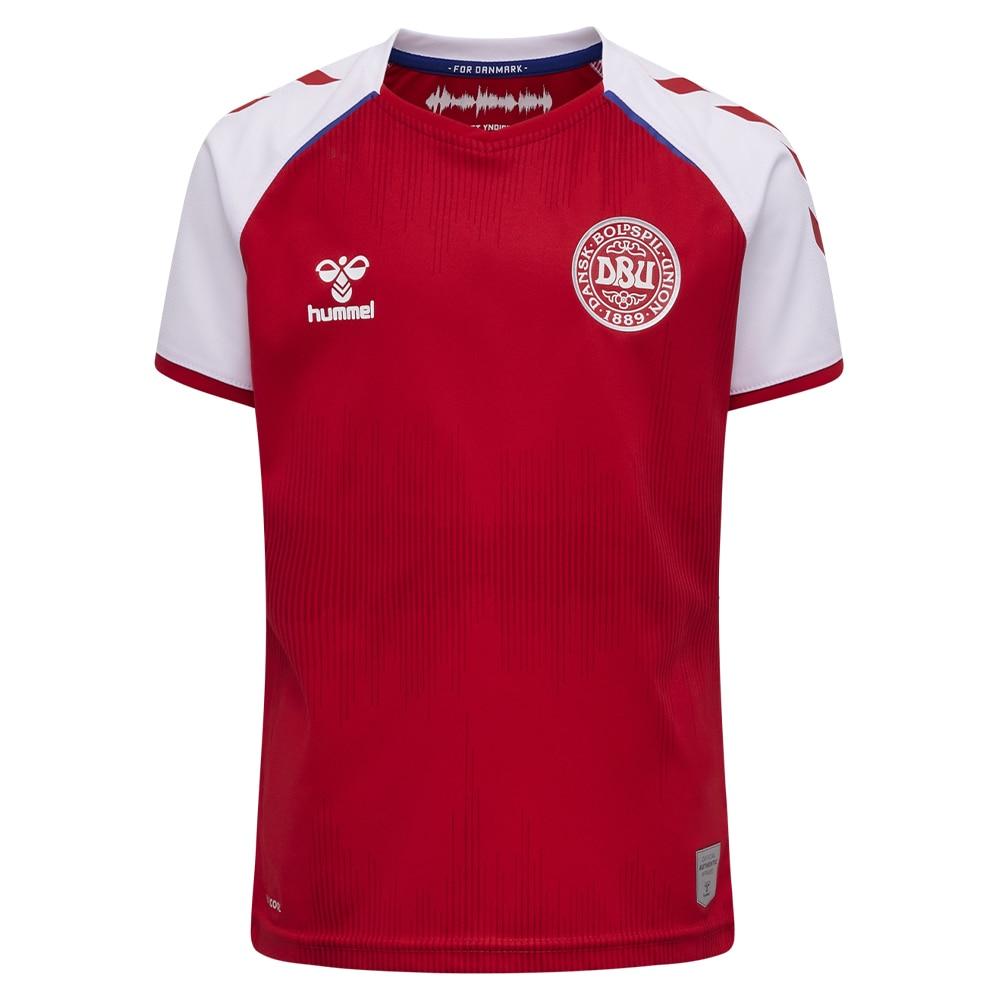 Hummel Danmark Fotballdrakt EM 2021 Hjemme Barn
