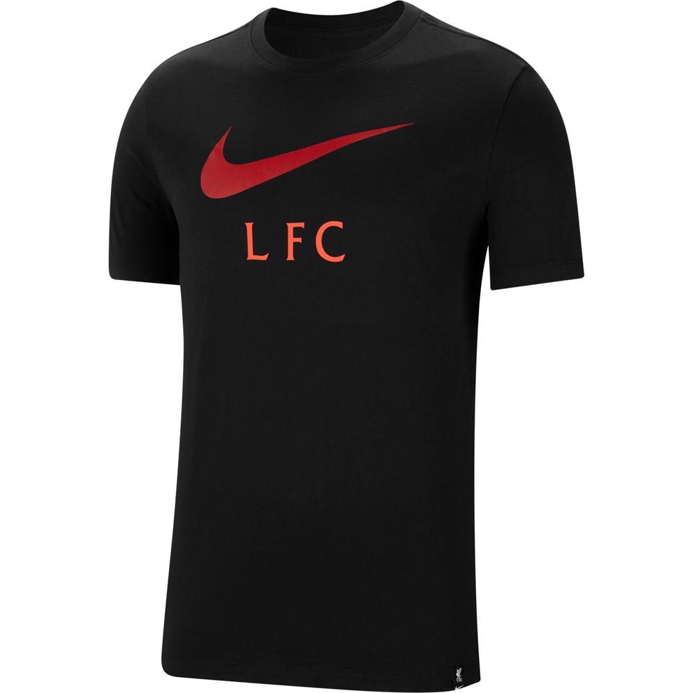 Nike Liverpool FC Swoosh Club T-Skjorte Sort