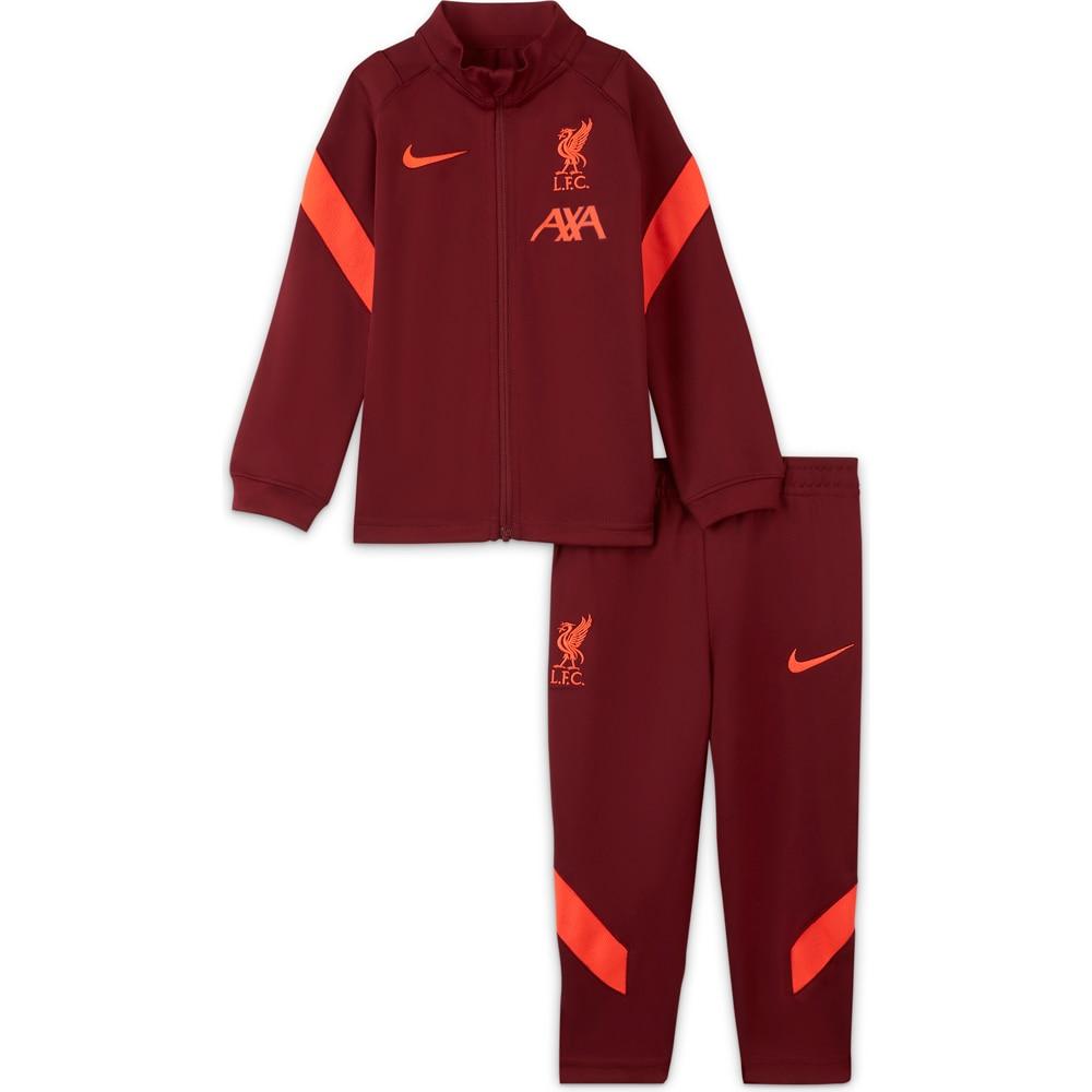 Nike Liverpool FC Treningsdress 21/22 Småbarn Burgunder