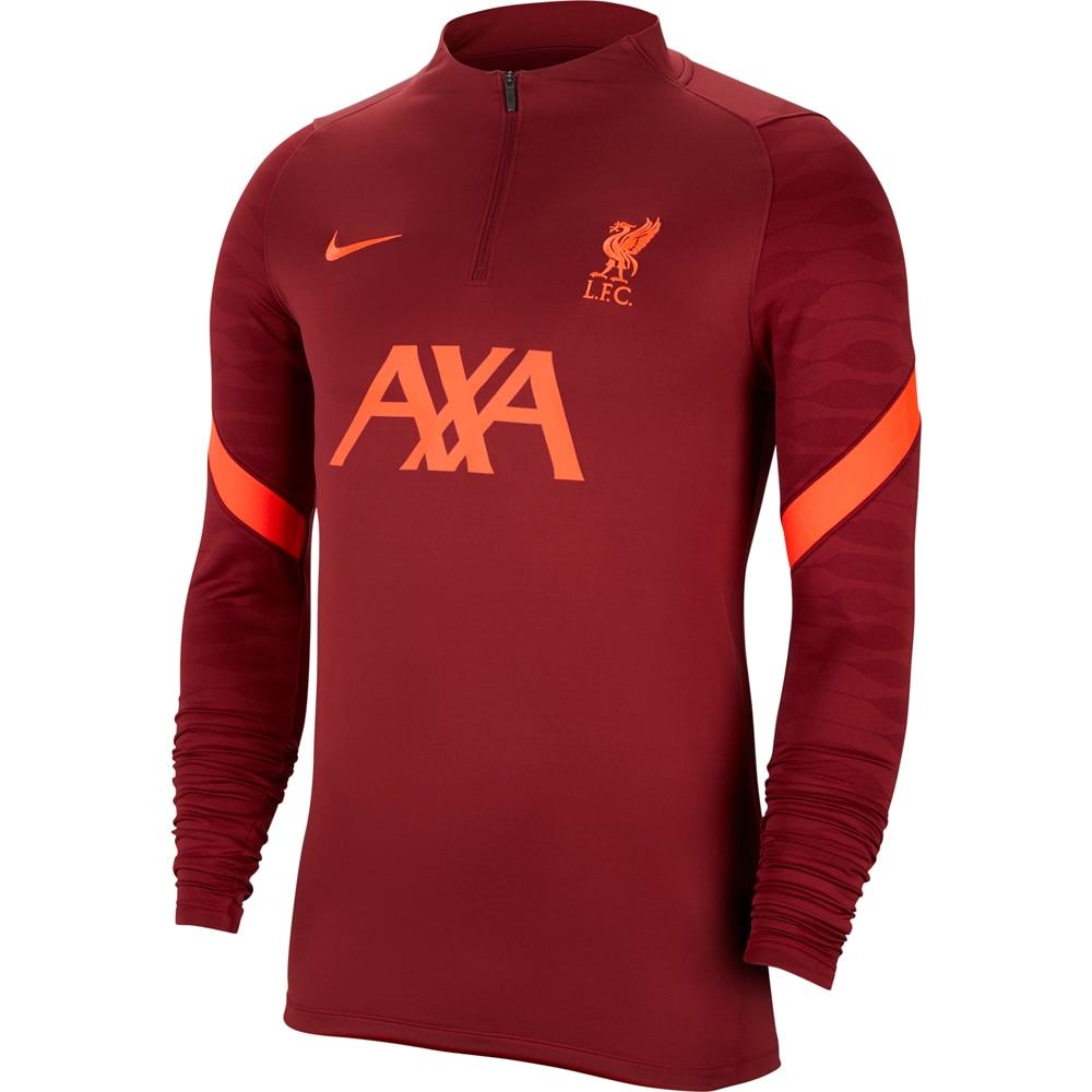 Nike Liverpool FC Treningsgenser 21/22 Burgunder