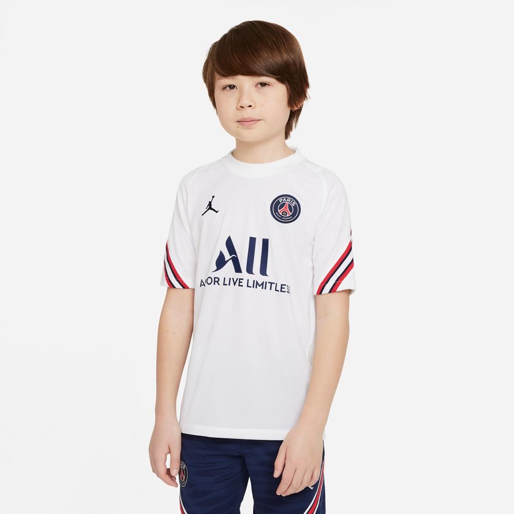 Nike PSG Treningstrøye 21/22 Barn Hvit