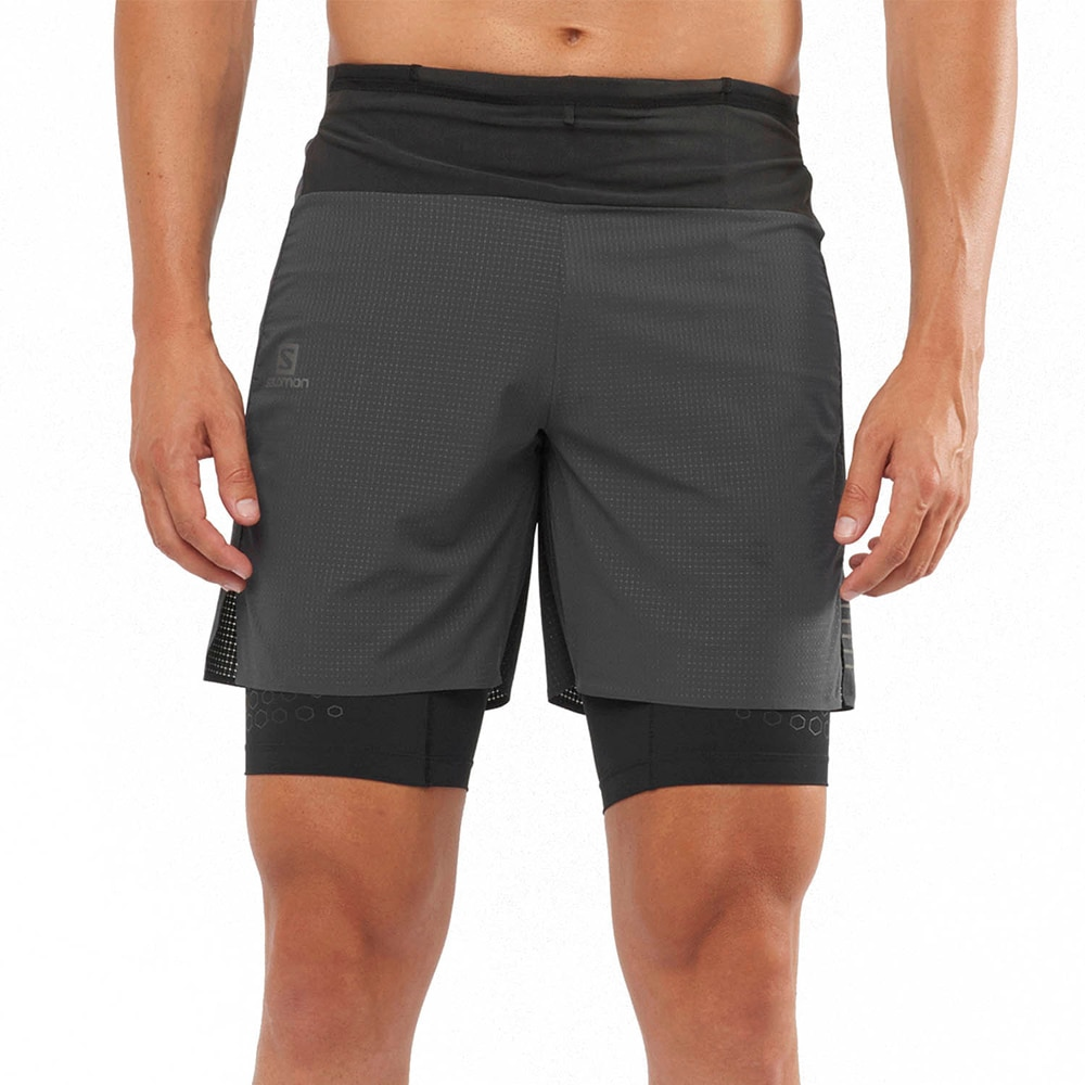 Salomon Exo Motion TW Løpeshorts Herre Sort