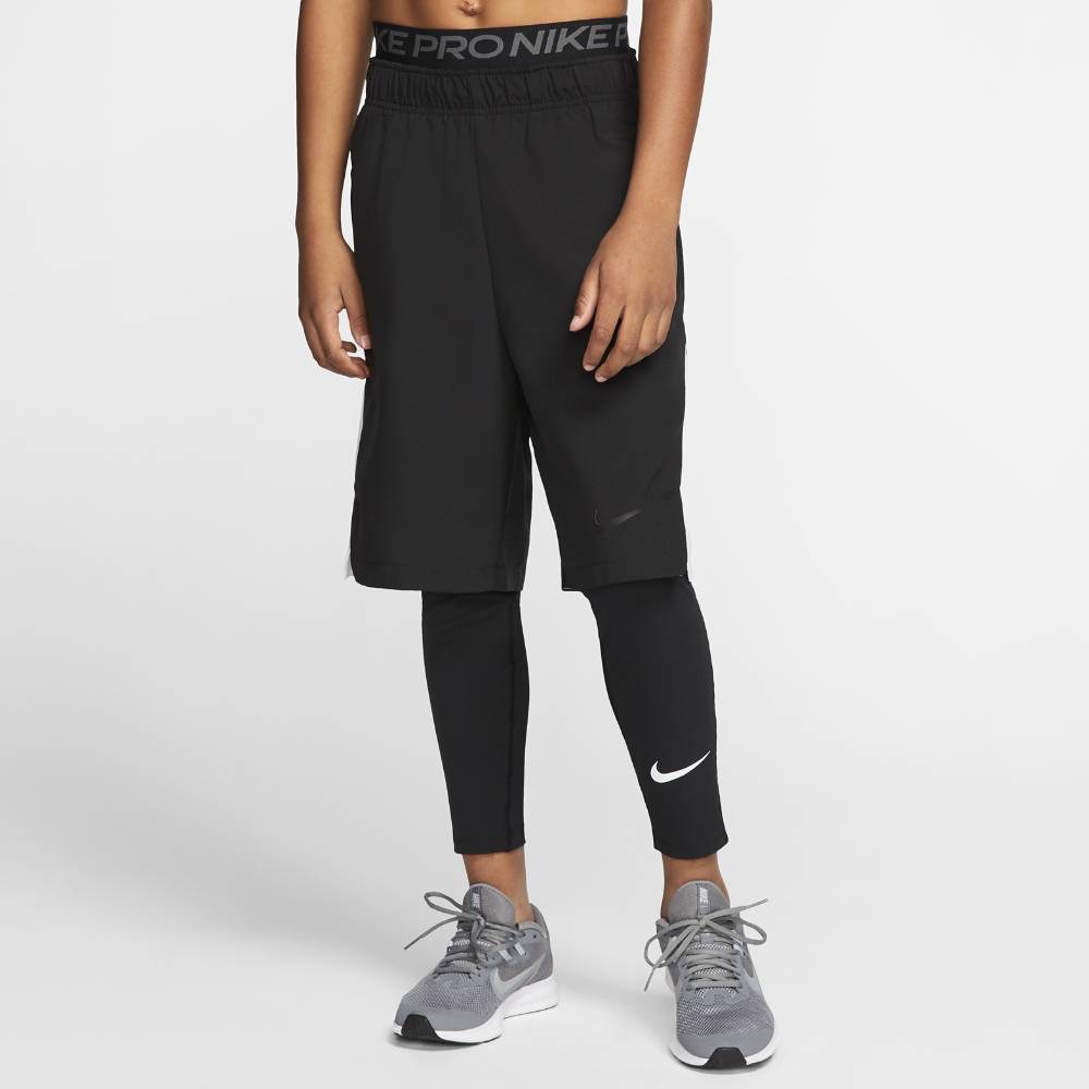 Nike Pro Tights Bukse Barn Sort