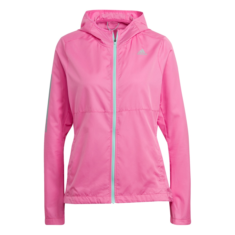 adidas Own The Run Hooded Vindjakke Dame Rosa