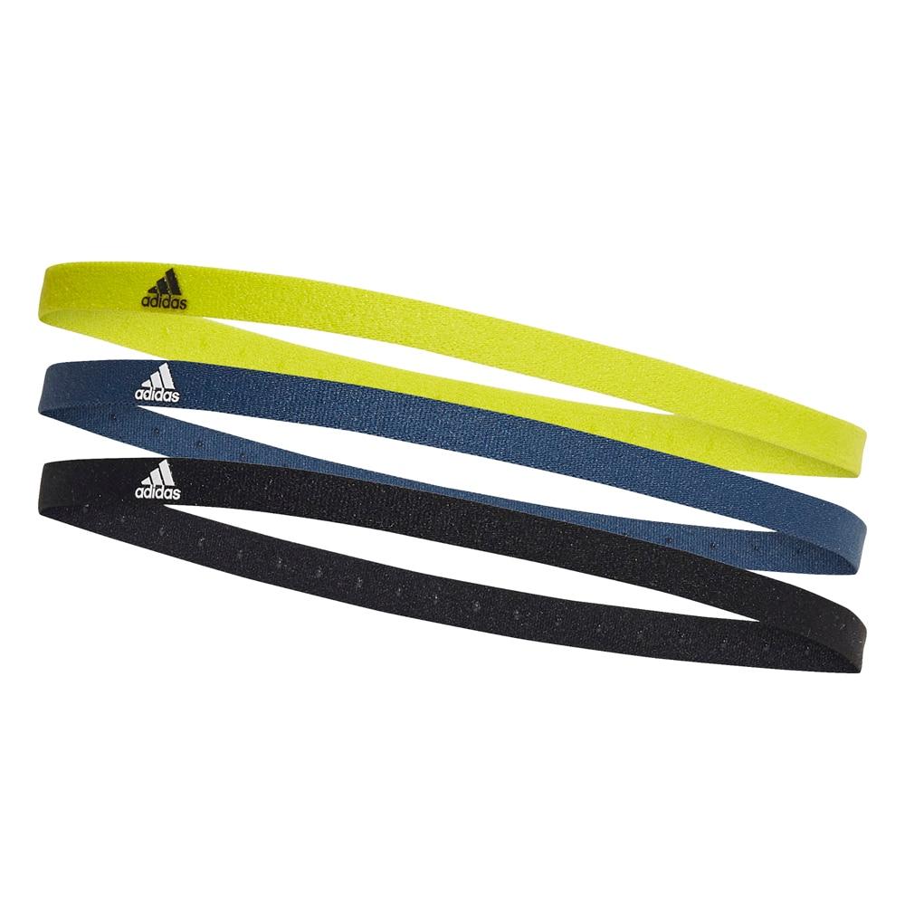 Adidas Hårbånd 3-Pack Volt/Marine/Sort