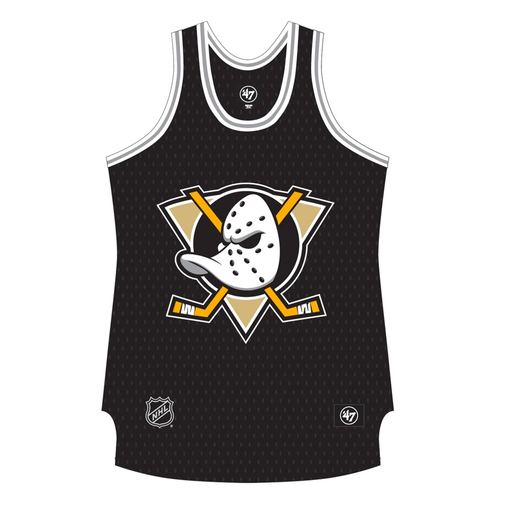 47 NHL Grafton Tank Singlet Anaheim Ducks