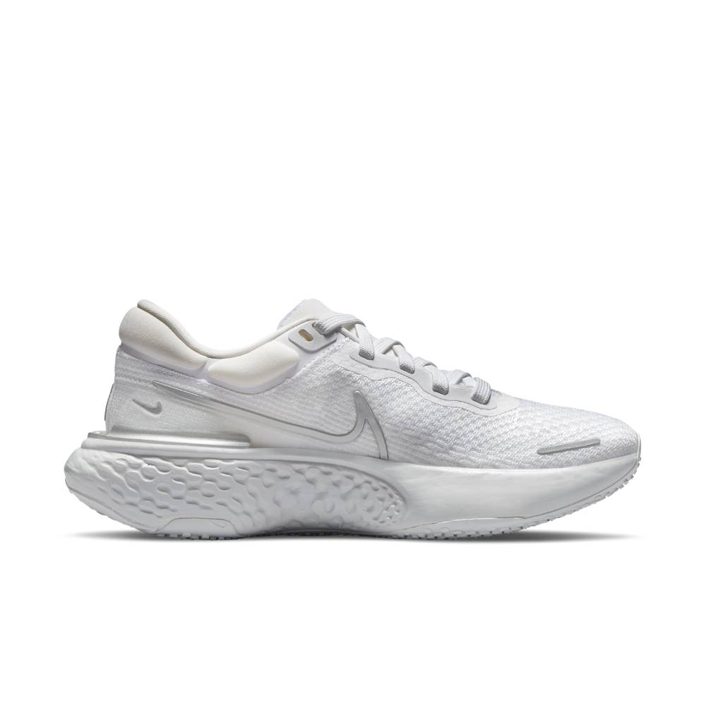 Nike ZoomX Invincible Run Flyknit Joggesko Dame Hvit/Grå