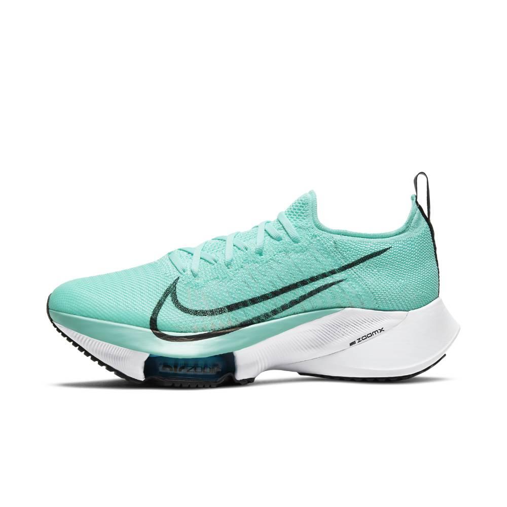 Nike Air Zoom Tempo Next% Flyknit Joggesko Dame Turkis