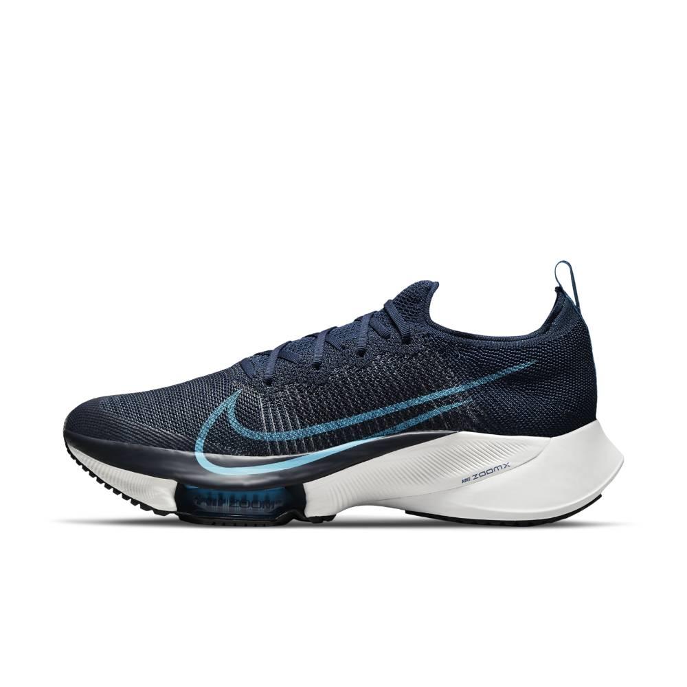 Nike Air Zoom Tempo Next% Flyknit Joggesko Herre Marine