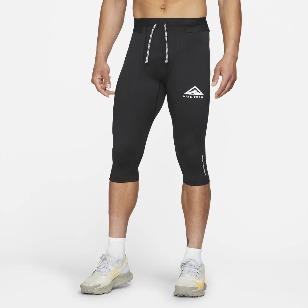 Nike Trail GX Tights 3/4 Herre Sort