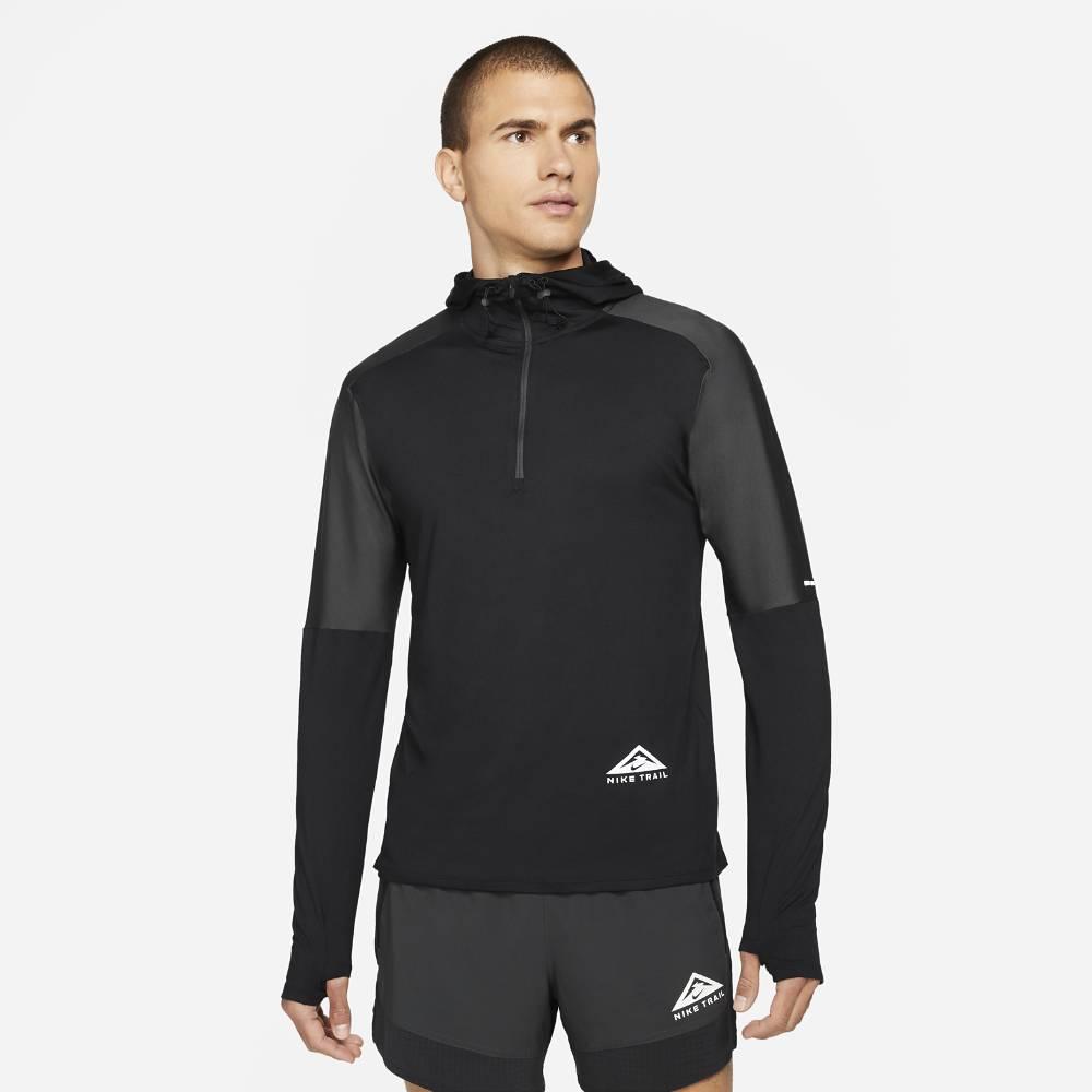 Nike Trail Element GX Hoodie Hettegenser Herre Sort